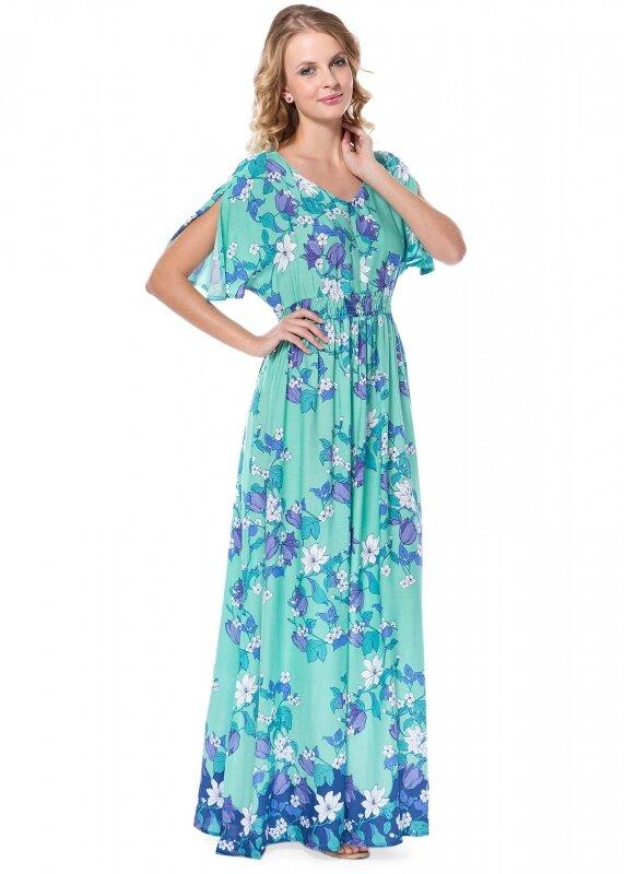 Платье Летнее Макси Купить В Интернет Магазине